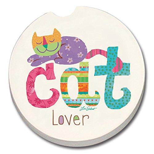 CounterArt Absorbent Stoneware Coaster Lover
