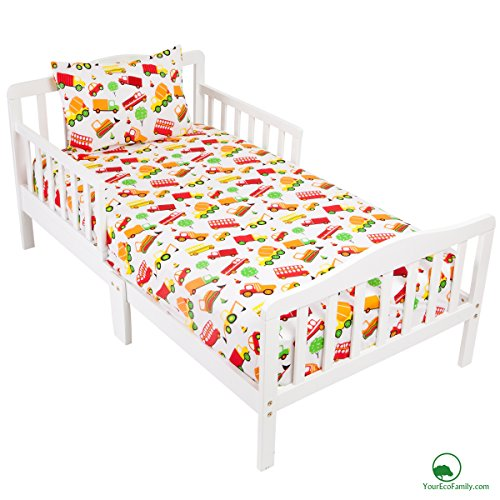 YourEcoFamily Cotton Fitted Toddler Pillowcase product image