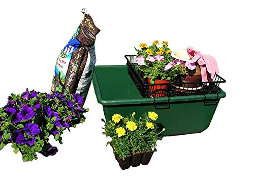 The Potting Caddy-flower, seed and planting soil portable tabletop potting gardening ()