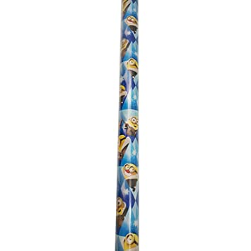 Image Unavailable  sc 1 st  Amazon.com & Amazon.com: Gift Wrap ~ WINTER MINIONS ~ Wrapping Paper - 1 ROLL ...