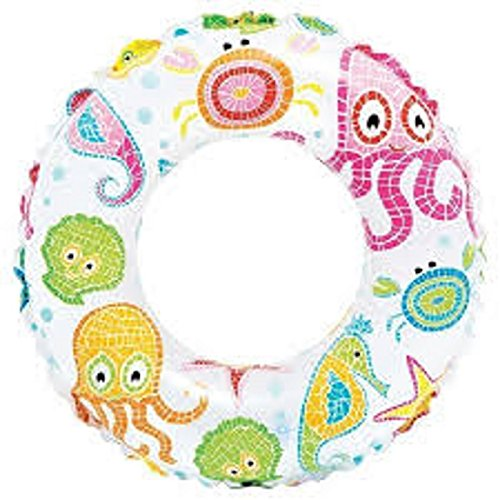 CSU PVC Swimming Ring - Swimming Tube for Children (3-6 Years) (Multicolor) (24