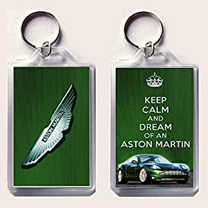 KEEP CALM and ATRAPASUEÑOS of an Aston Martin Llavero ...
