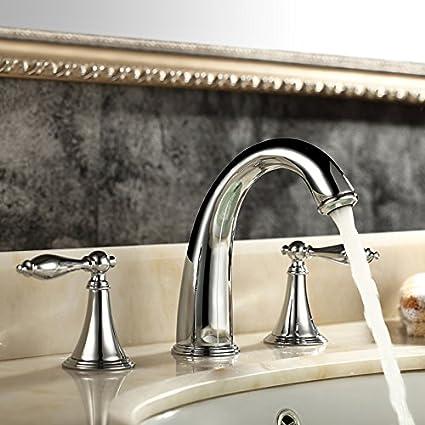 wymbs accesorios para muebles creativo decoración baño grifo del bacino europeo cobre baño caliente y frío