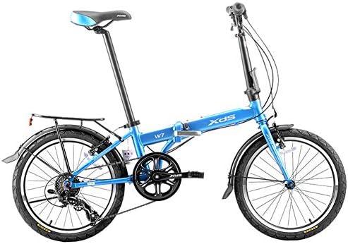 NENGGE Bicicleta Plegable, Adultos Unisex Marco de Aluminio ...