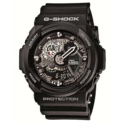 Casio Men's GA300-1A Combi Chronograph Watch
