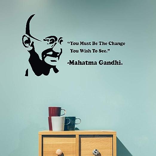 pegatinas de pared tortugas ninja Mahatma Gandhi debe ser el ...