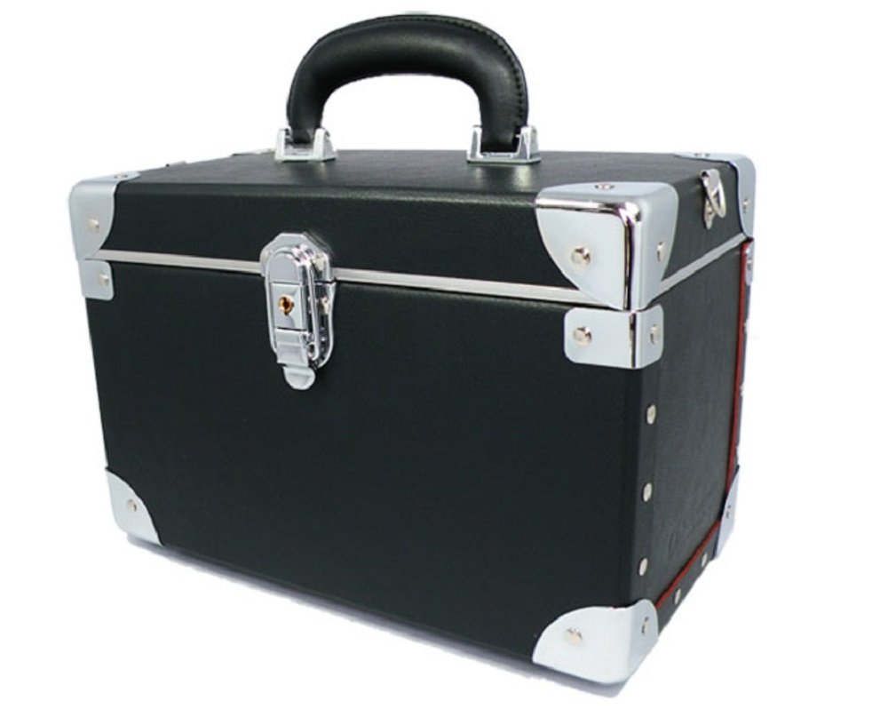 Movable Make-up Box with Hand 105-5 Black