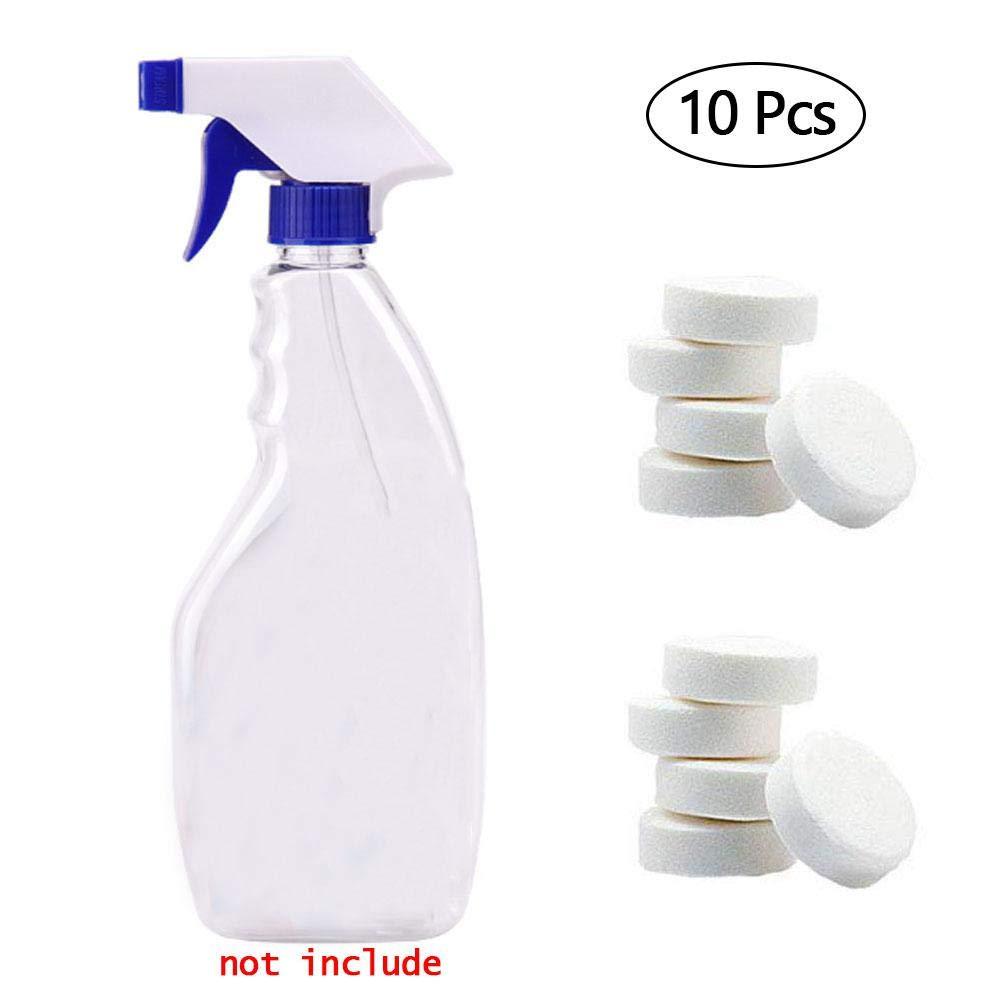 Umiwe Compresse effervescenti multifunzionali, spray Cleaner lavavetri puliti di vetro parabrezza dell'automobile Compresse detergenti spray Strumento di pulizia domestica concentrato