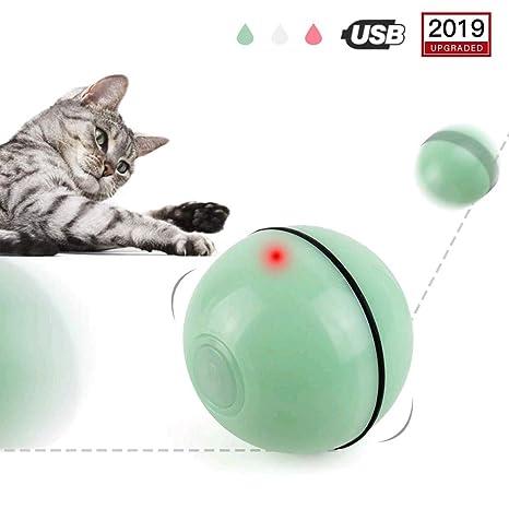 PETEMOO Juguetes para Gatos Interactivo Automático Rolling Ball ...