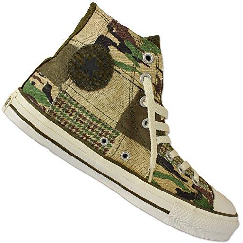 Hi Converse Deportivas Zapatillas All Camuflaje Star Taylor Parche Chuck Militar qqg7Swp