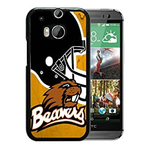 NCAA Oregon State Beavers 06 Black Hard Shell Phone Case For HTC ONE M8