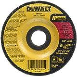 DEWALT DW4514B5 4-1/2-Inch by 1/4-Inch by 7/8-Inch Metal Grinding Wheel, 5 Pack