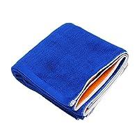 oruta 今治産リバーシブルスポーツタオル 110×40cm ロイヤルブルー×オレンジ Rev-st-BLU