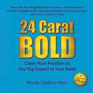 24 Carat Bold Audiobook