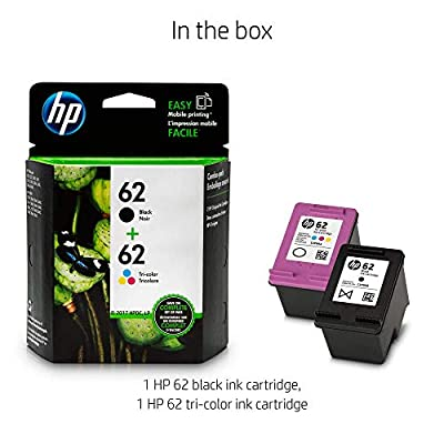 HP 62 Black & Tri-color Original Ink Cartridges