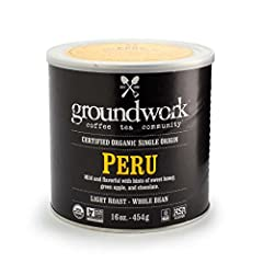 PERU - A sophisticated light roast with aromatics of tamarind and orange blossom permeate with notes of brown sugar, cocoa and tart cherries.