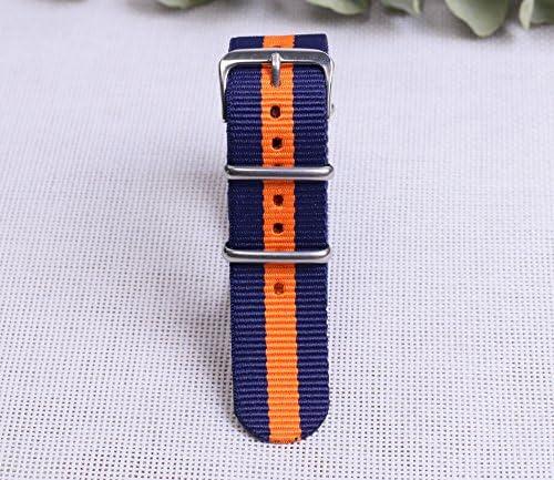 Amazon.com: Colorful Durable elegante reloj Nylon Otan ...