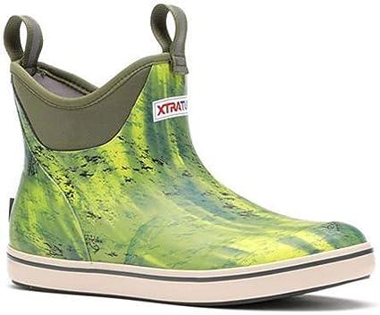 XMAB-BOF Xtratuf Performance Series 6 Men/'s Full Rubber Ankle Deck Boots Mossy Oak Bone Fish Camo Print