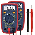 AstroAI Digital Multimeter with Ohm Volt Amp and Diode Voltage Tester Meter (Renewed) (2 Pack)