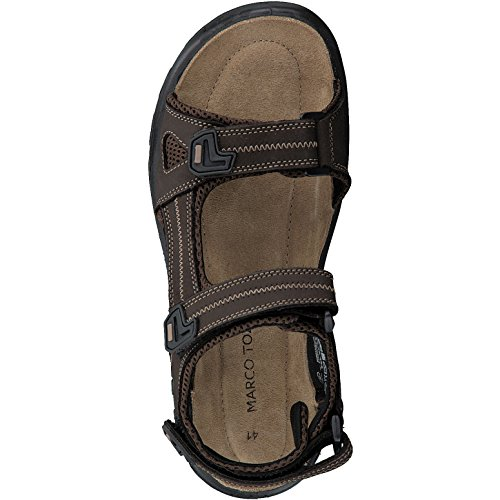 Moka 18400 da Sandalo 303 2 Tozzi Marrone Braun Marco 20 Uomo zH7Cq