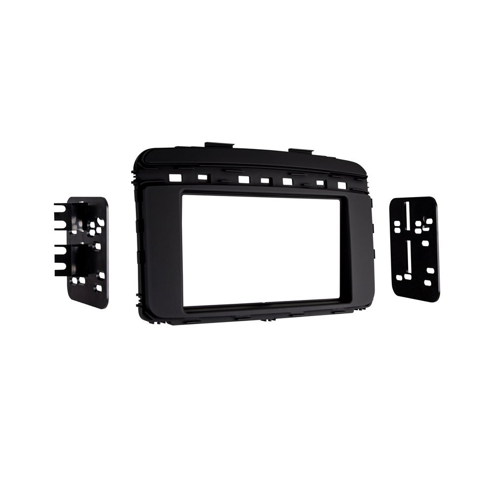 Kia Sorento Metra 95-7366B ISO Double DIN Dash Kit for 2016 Black