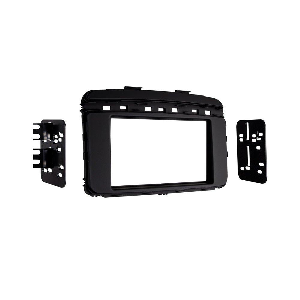 Metra 95 7366b Iso Double Din Dash Kit For 2016 Kia 2015 Sorento Wiring Harness Black Car Electronics