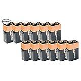 Duracell Alkaline Battery- 9V (Pack of 12)