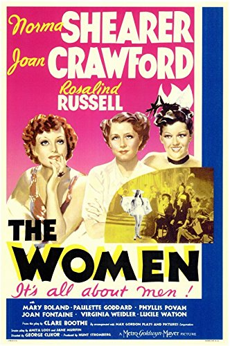 The Women Poster Movie Norma Shearer Joan Crawford Rosalind Russell Joan Fontaine