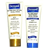 Dermasil Day Oil Free with Retinol Day & Oil Free Night 2oz Ea