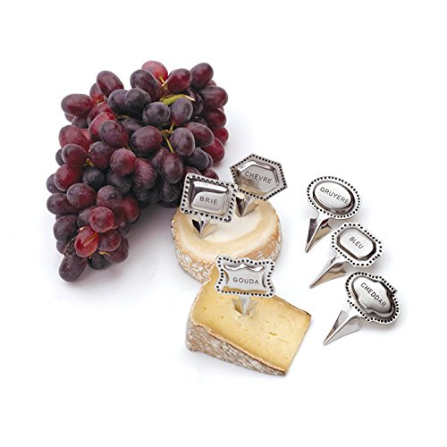 Eclipse Home Collection Tags Cheese Marker Set 2.75'' H