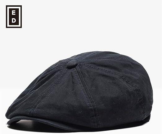 sdssup Gorra Masculina Boina Sombrero Azul Oscuro Ajustable ...