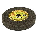 uxcell16mm Bore 150mm Dia 180 Grit Nylon Fiber Wheel Abrasive Polishing Buffing Disc