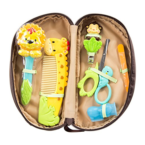 Sassy Jungle Theme Grooming Set, 11 Count -