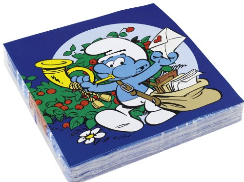 Party - 20 Smurf Luncheon Napkins - Amscan