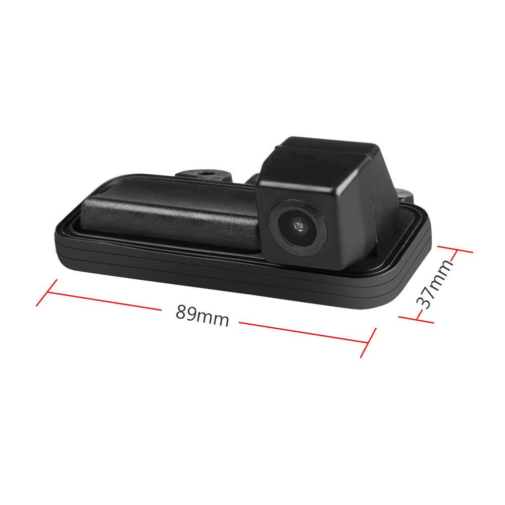 RCA ,Rear View reverse parking Camera for W246 B160//B170//B180//B200//B220//B250//B260//B55 AMG 2012-2014 Misayaee Backup Camera with Tailgate Handle for Universal Monitors