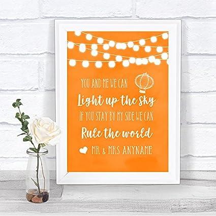 Naranja acuarela luces luz hasta el cielo regla el mundo ...