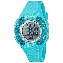 Armitron Sport Women's Quartz Resin Fitness Watch, Color:Blue (Model: 45/7081LBL)