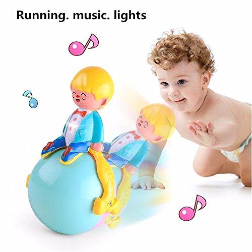 Mchoice Multi-function Light Music Running Tumbler Toys For Children