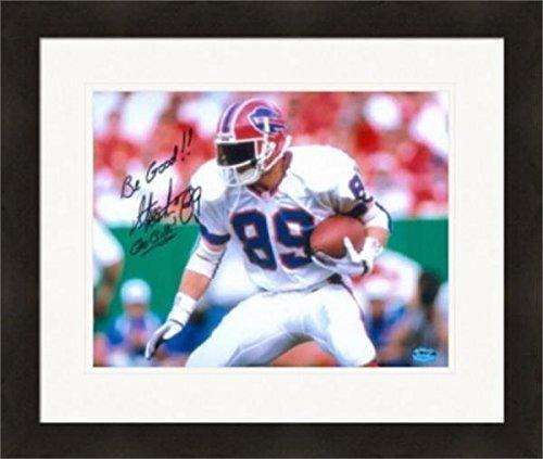 Autograph Warehouse 270463 Steve Tasker Autographed 8 x 10 in. Photo - Buffalo Bills Image - No. SC1 Matted & Framed