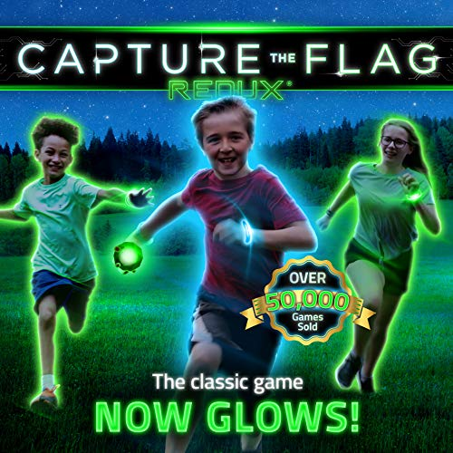 Capture the Flag REDUX: The Original Outdoor Game for Youth Groups, Birthdays and Team Building - a Unique Glow-in-The-Dark Gift -