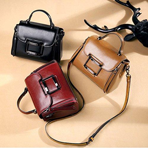 coréenne tendance diagonale la du femmes Black sac de petit version La féminin mode portable des carré Sac sac wYtxqgApn