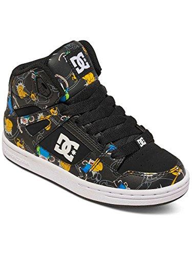 DC - Zapatillas de skateboarding para niño
