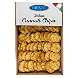 Giusto Sapore Sicilian Cannoli Shells - Cannoli Chips -3 lb Pack - Imported from Italy and Family Owned Brand