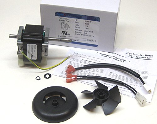 Carrier / Bryant Draft Inducer Motor 318984753, 318984-753 - Brand NEW