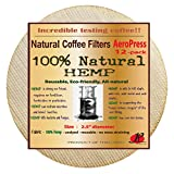 P&F(12 pack)Natural Reusable Coffee Filters for Aeropress Coffee...