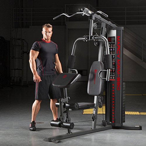 Marcy 150 Lb Multifunctional Home Gym Station Mwm 990