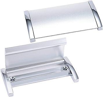 XMHF - Tiradores de cajón ocultos de aleación para puerta corredera con tirador de descarga: Amazon.es: Bricolaje y herramientas