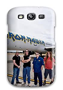 Colleen Otto Edward's Shop 3194492K98228163 Rugged Skin Case Cover For Galaxy S3- Eco-friendly Packaging(iron Maiden)