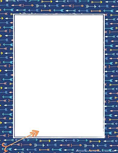 Eureka Confetti Splash Pointed Arrows Computer Paper (812101)]()