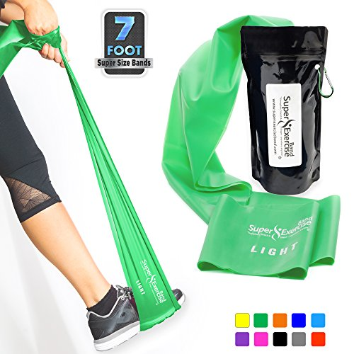 Super Exercise Band Light Green Resistance Band. Your Home G